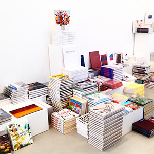 David Zwirner Pop Up Bookstore